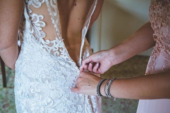 abito sposa damigella