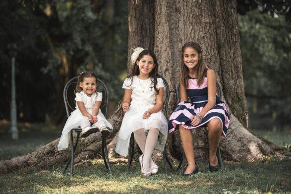 matrimonio bambine ricevimento invitati albero