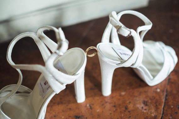 sposa accessori scarpe bianche tacco