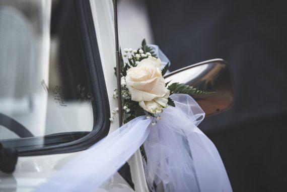 matrimonio auto fiore