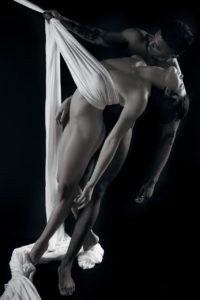 uomo donna danza bianco nero