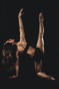 donna danza nero