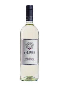 bottiglia di vino il feudo trebbiano
