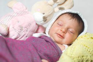neonato letto peluche