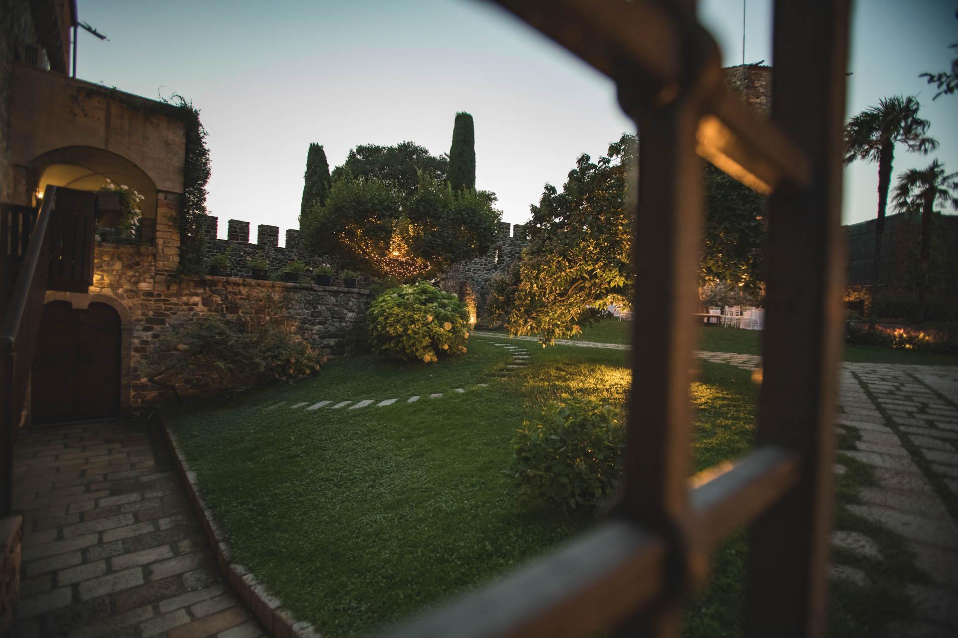 castello di rossino cortile interno