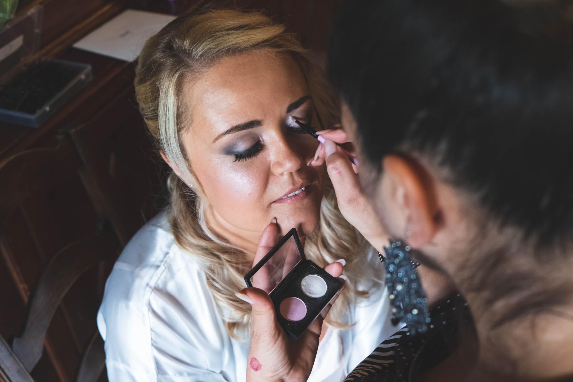 sposa trucco make up