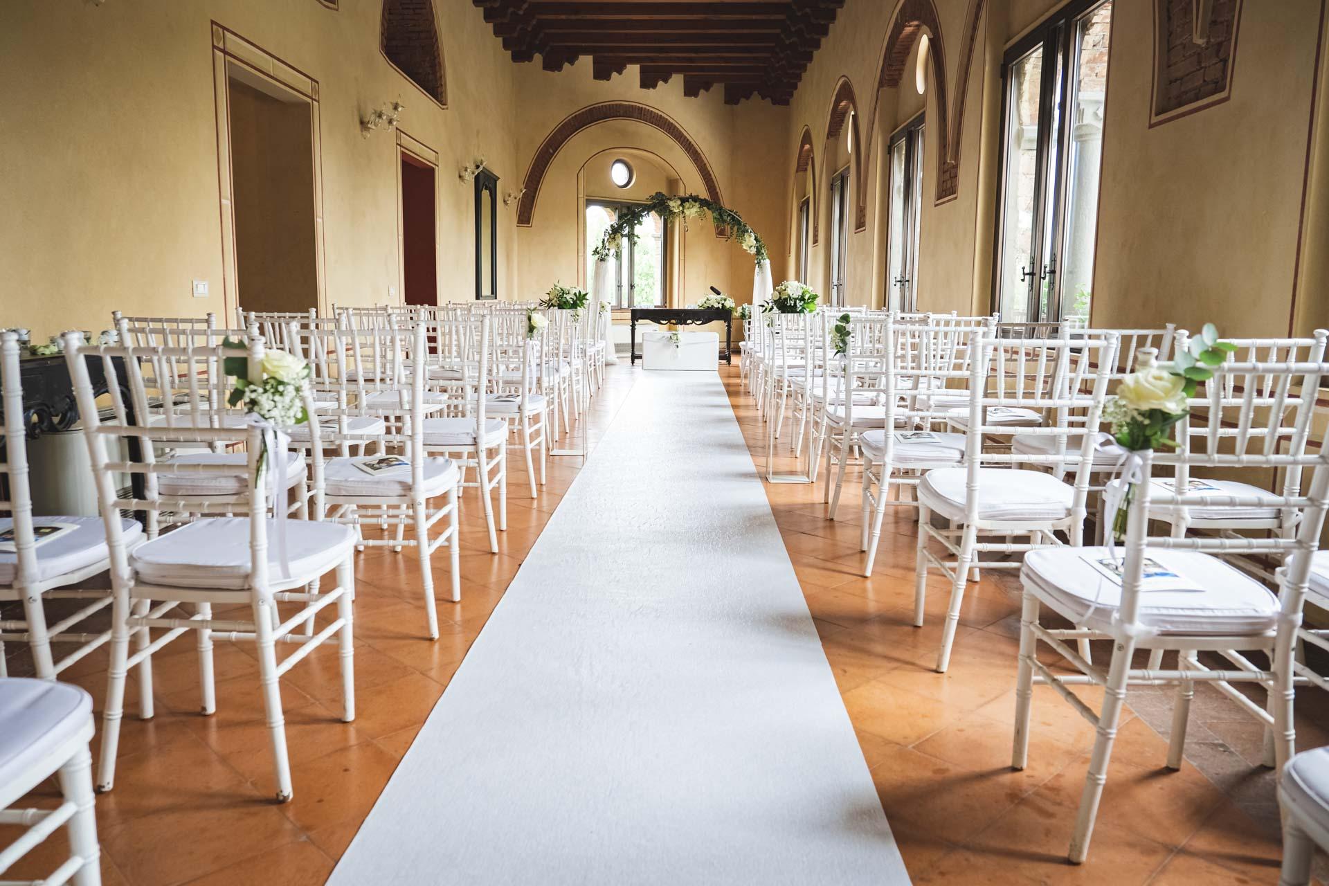 matrimonio sala celebrazione