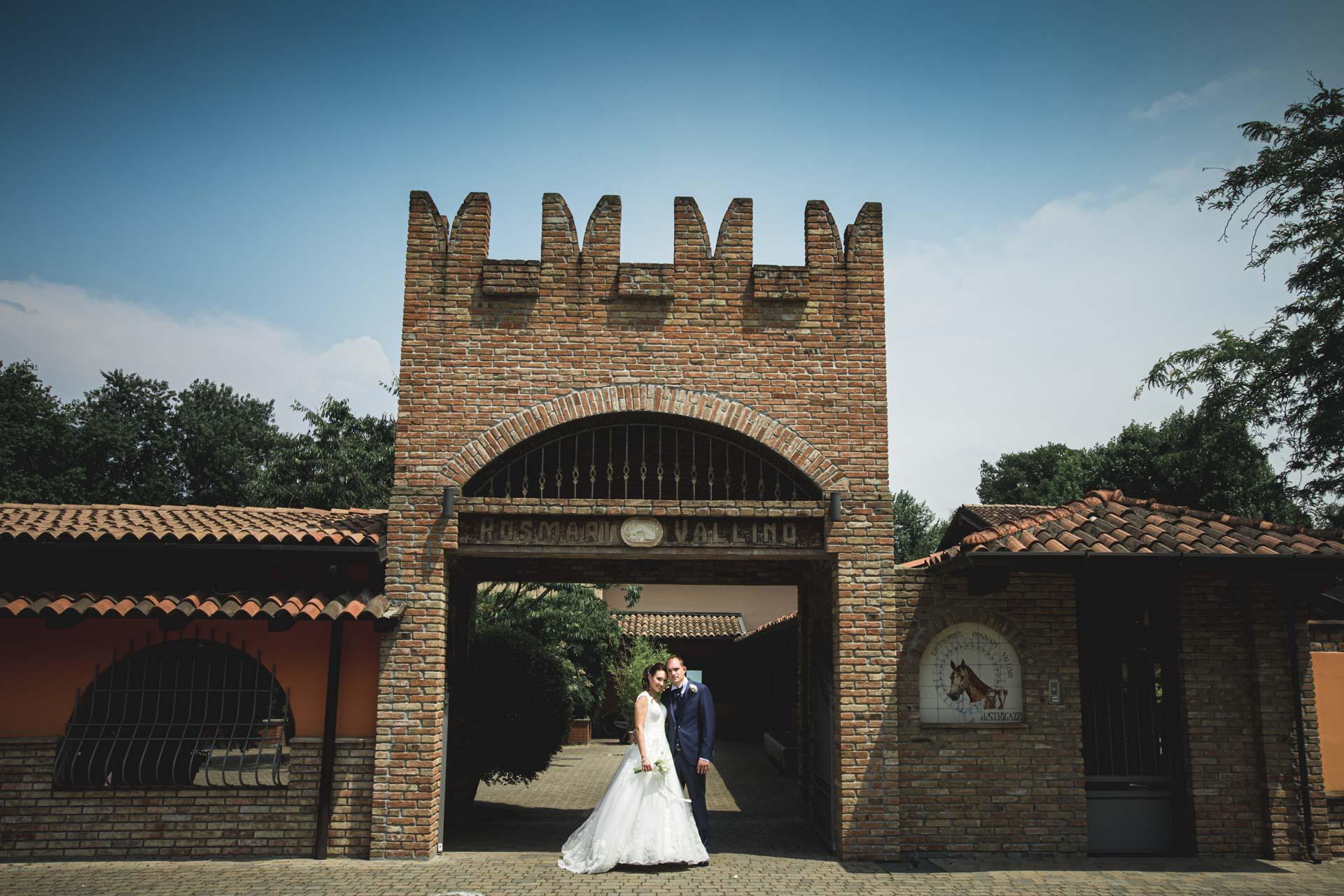 Rosmary Vallino sposi ingresso