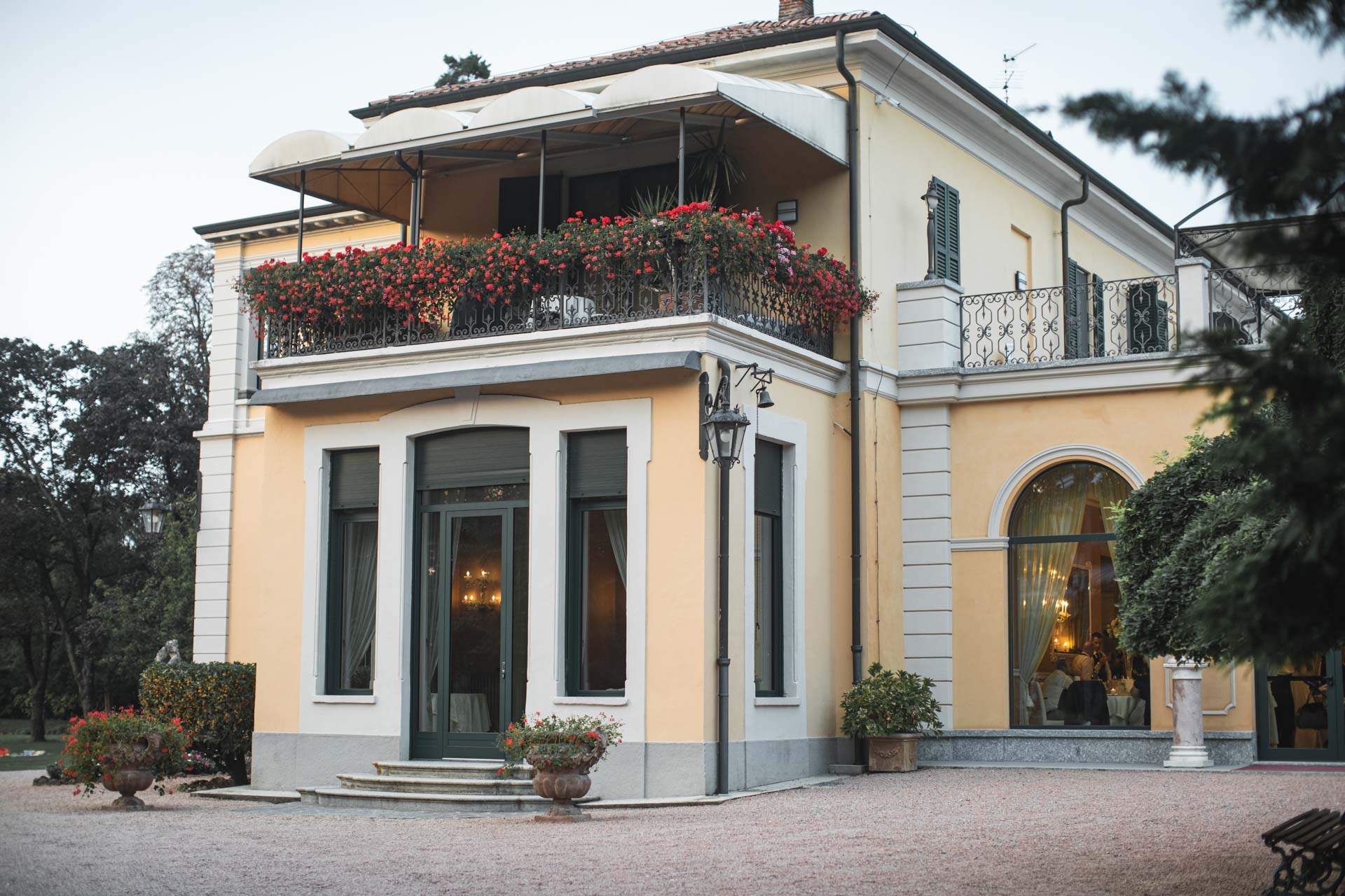 Villa Mattioli ingresso