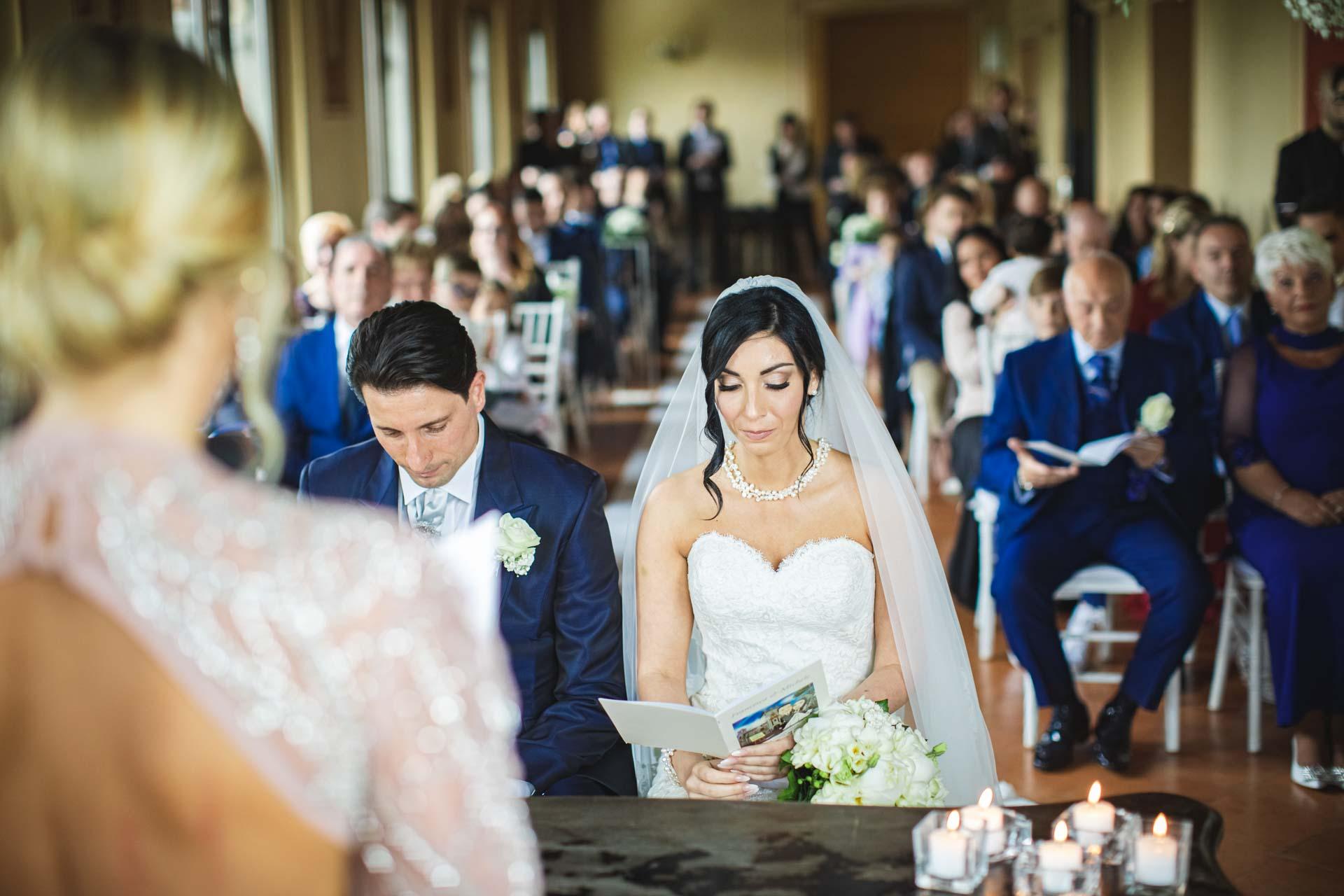 sposi matrimonio celebrazione invitati