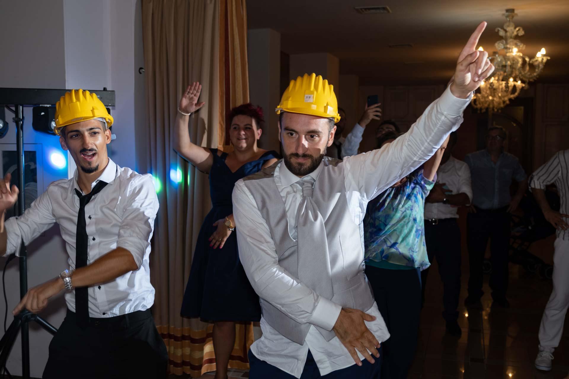 matrimonio ricevimento balli invitati