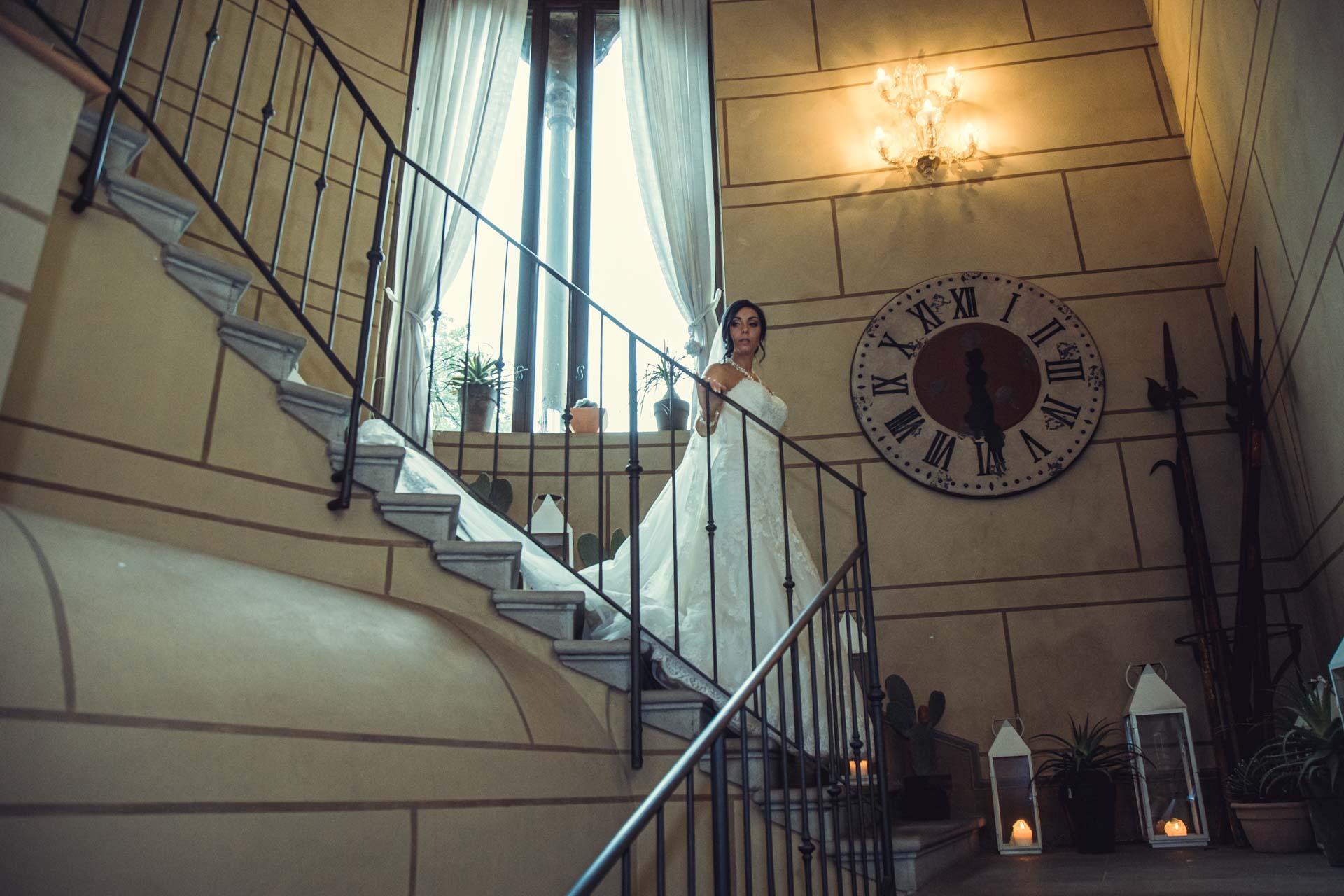 sposa scale orologio