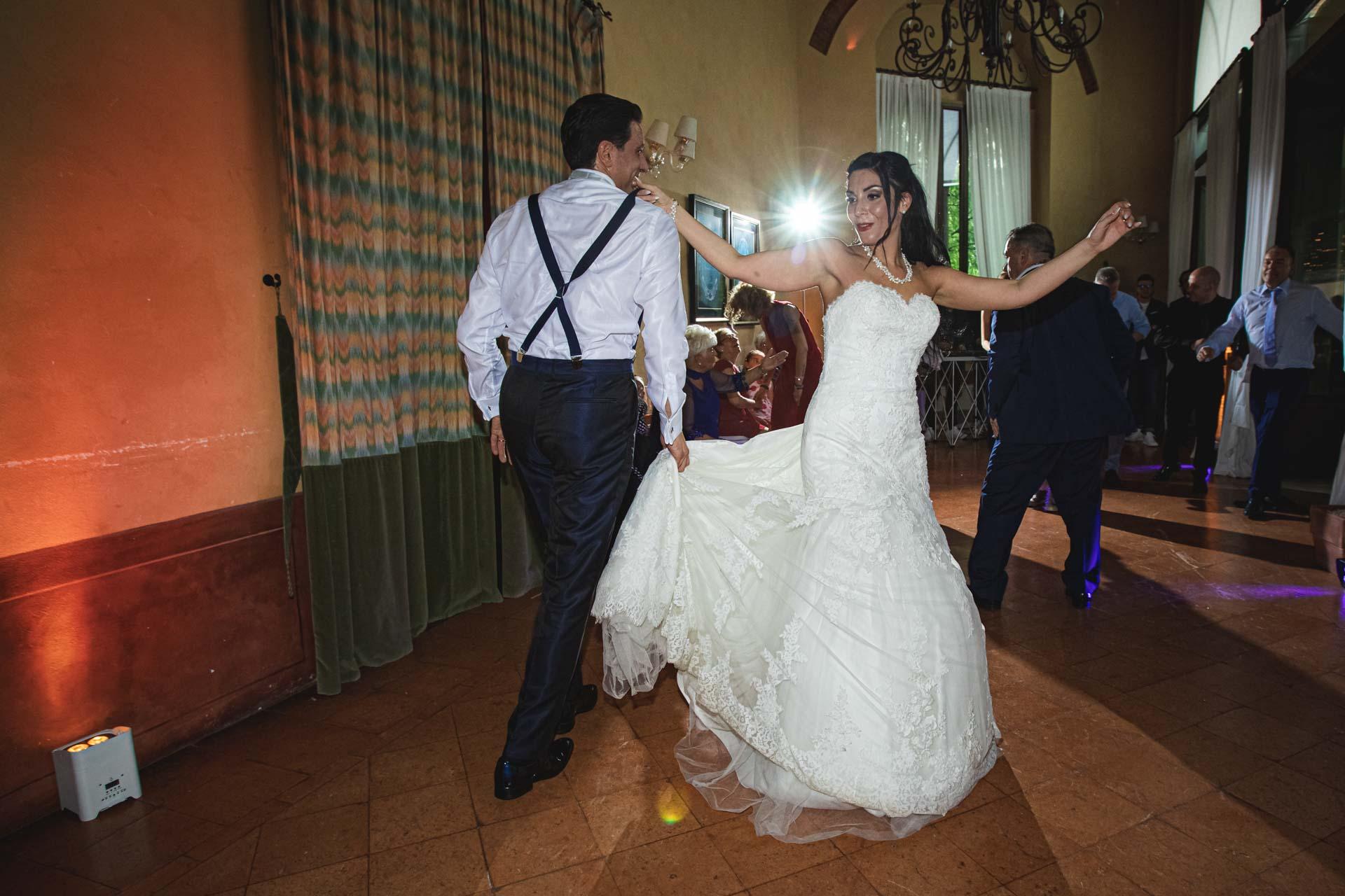 sposi ballo ricevimento invitati