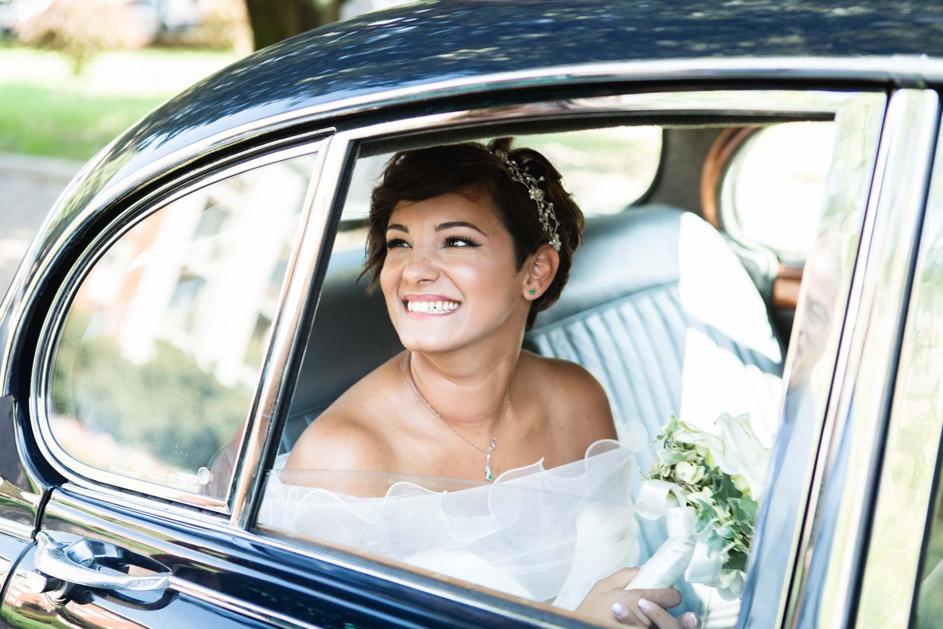 sposa auto