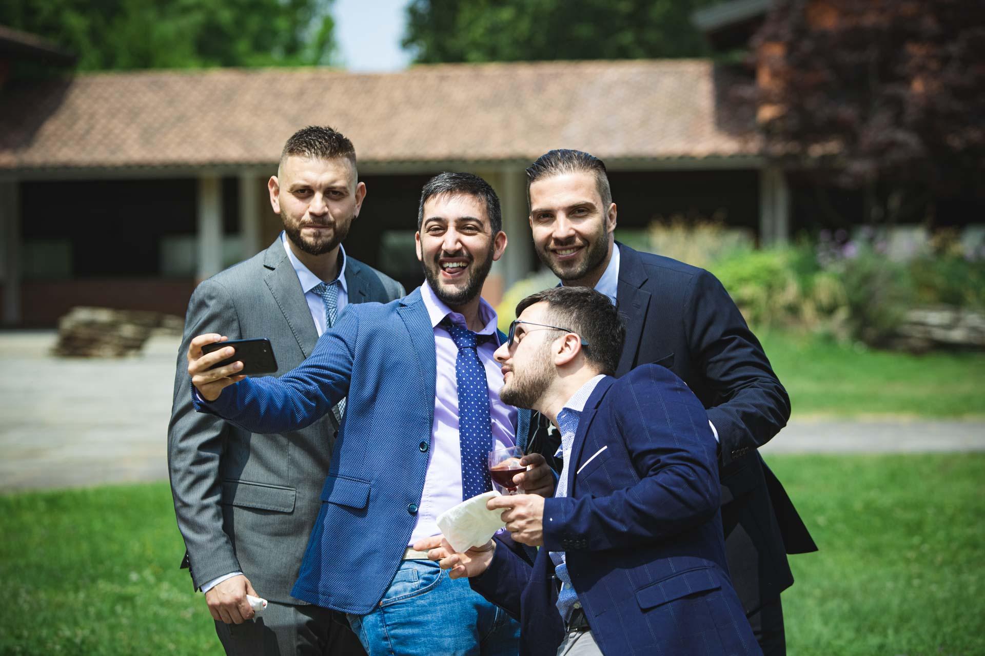 matrimonio invitati selfie