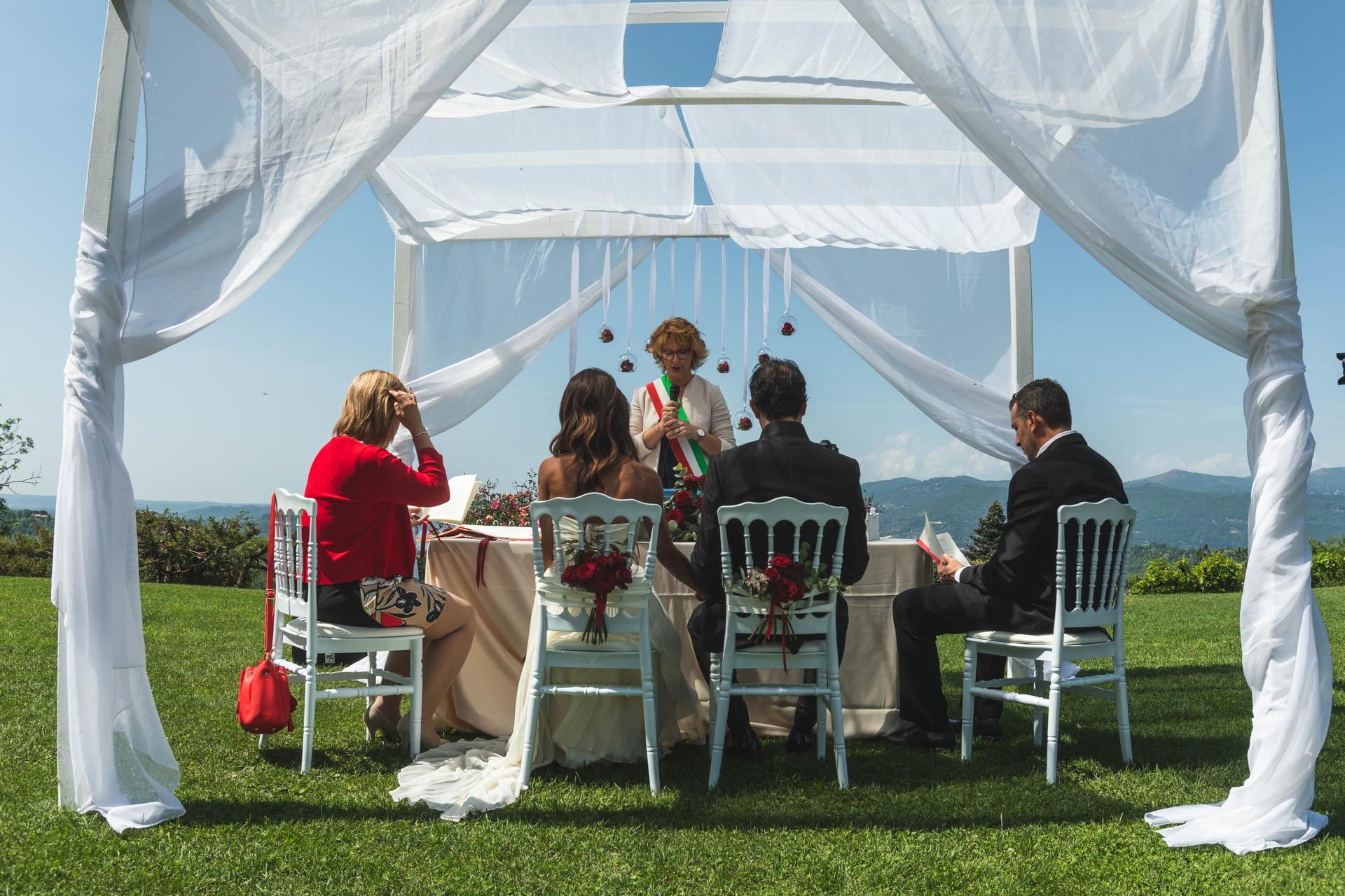 sposi matrimonio cerimonia