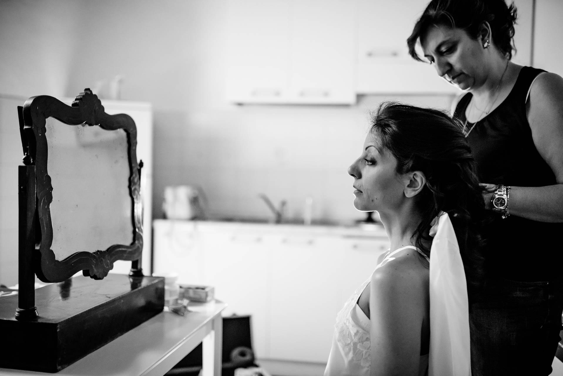 sposa abito trucco make up